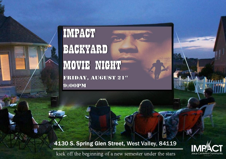 Movie Night August 21, 2020